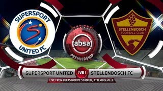 Absa Premiership | SuperSport United v Stellenbosch FC | Highlights