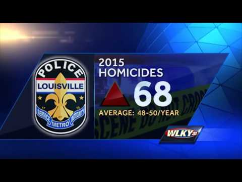 Louisville Metro Police chief talks about city's murder rate