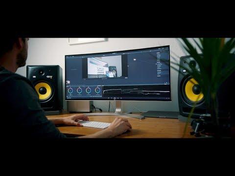 """DER Monitor für Filmmaker und Kreative? - LG Ultrawide 38"""" Curved 21:9 Monitor Review!"""