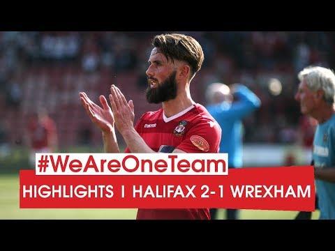 HIGHLIGHTS   Halifax Town 2 Wrexham 1
