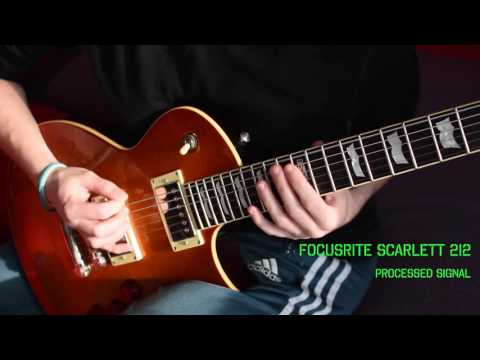 Is Apogee really the best? Apogee One VS Focusrite Scarlett 2i2 - Guitar test