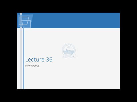 A Tender Document Studied Lecture 36 04 Nov 2015