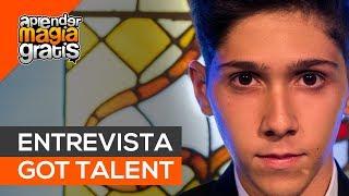 Entrevista a Manuel Alcalde semifinalista de Got Talent