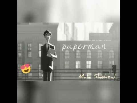 Paper man emotional love song
