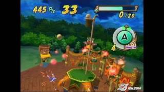 Amazing Island GameCube Gameplay - Shooting Hoops