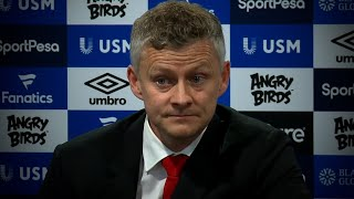 SOLSKJAER: 'PLAYERS LET FANS & CLUB DOWN' | OLE APOLOGISES TO FANS AFTER 4-0 DEFEAT AT GOODISON PARK