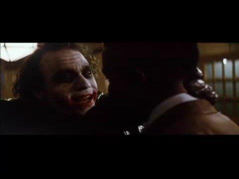The Dark Knight - Joker and Gambol (Why So Serious) Scene ...