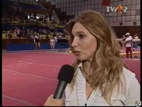 Simona Amanar Interview (Romanian Internationals 2009)
