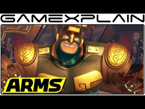 Confirmado un nuevo personaje para ARMS, Max Bass