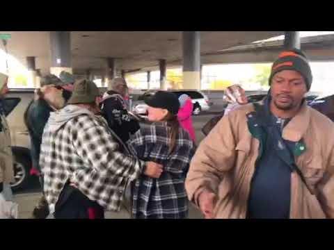 Under a bridge - Homeless ministry, Spokane WA
