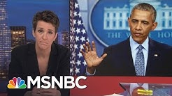 President Barack Obama Exits With Long List Of Accomplishments | Rachel Maddow | MSNBC