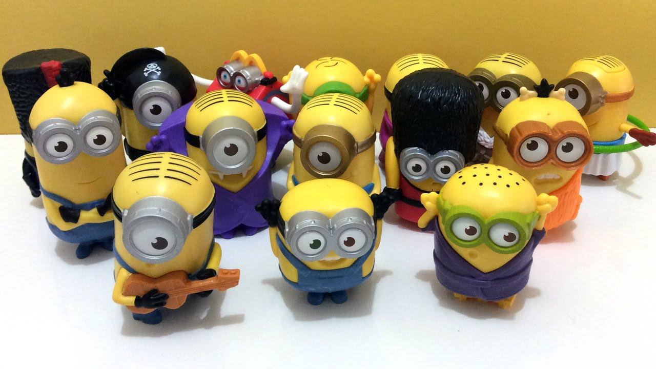 Minions #9 TALKING GUARD MINION McDonald/'s 2015 happy meal toys
