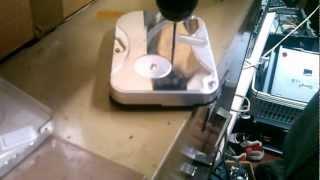 D.I.Y. hard drive destruction
