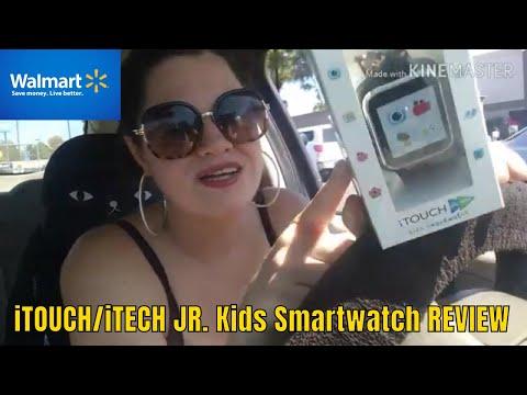 Walmart Hidden Clearance ITOUCH/ITECH KIDS SMARTWATCH REVIEW