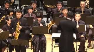 «Beauty and the Beast/美女與野獸» for Sax and Wind Ensemble