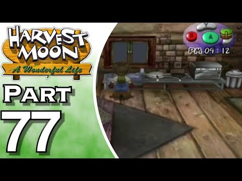 Harvest Moon: A Wonderful Life Part 77: Cooking Recipes
