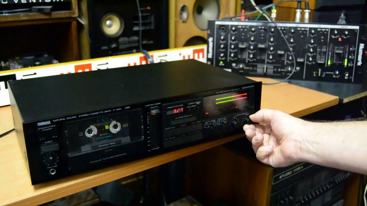 Rating For Yamaha K Cassette Deck