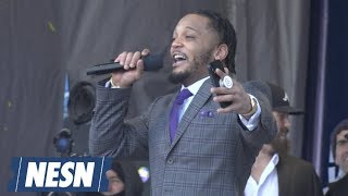 Patrick Chung, Devin McCourty Pump Up Patriots Fans At Super Bowl Rally