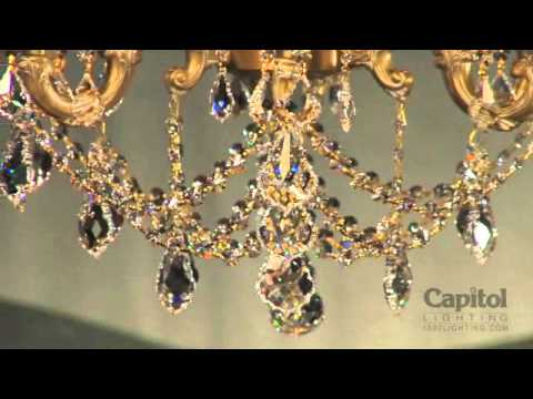 American Brass and Crystal Lighten Up Lydia Video YouTube – American Brass and Crystal Chandeliers