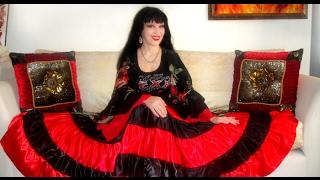 Как сшить юбку для цыганского костюма. Заметки о рукавах, аксессуарах