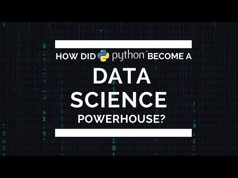 How Did Python Become a Data Science PowerHouse (PyData Seattle 2017)