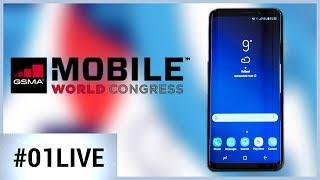 Tout ce qu'il faut savoir sur le Galaxy S9 - 01LIVE SPECIAL MWC 1/2