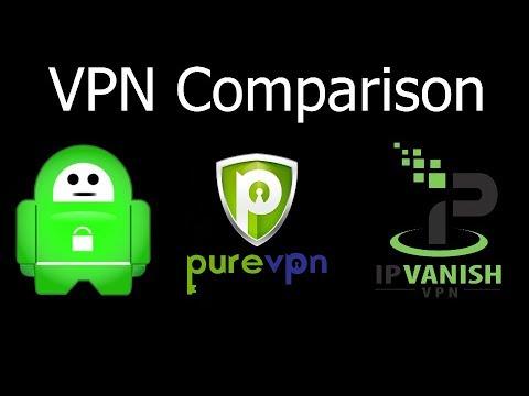 Private Internet Access vs PureVPN vs IPVanish