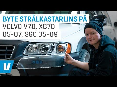 Byte Strålkastarglas/lins På Volvo V70, XC70 05-07, S60 05-09