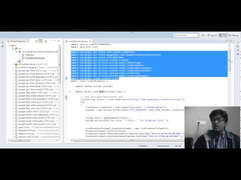 YouTube Live Streaming API
