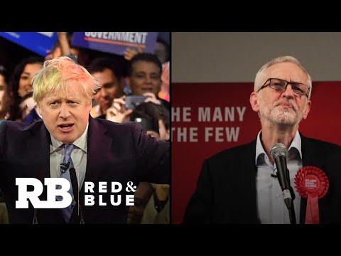 Exit Polls Show Boris Johnson Leading UK Election