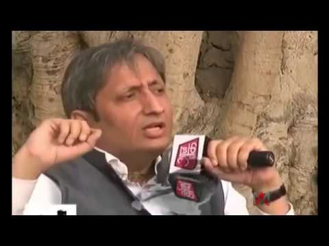 Ravish Kumar Full Interview with AajTak in Bihar, Watch it