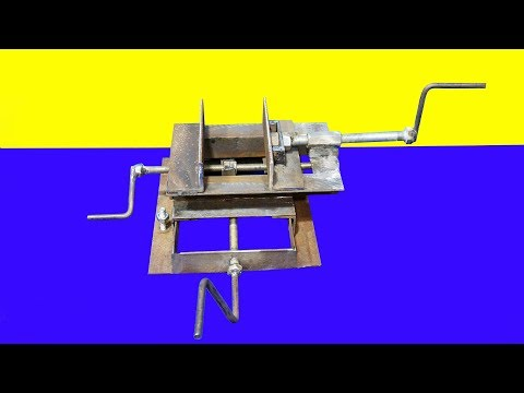 New !!! DIY Cross Vise Using Angle Bar