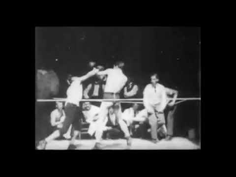 First fight ever filmed 1894