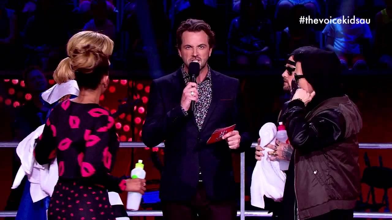 Delta & Joels Epic Stare-off | The Voice Kids Australia 2014