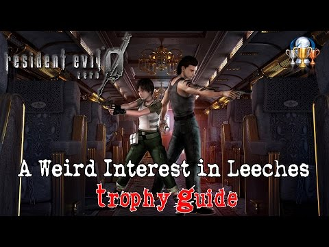 Resident Evil 0 HD Remaster - A Weird Interest in Leeches Trophy Guide (All Leech Charms Locations)