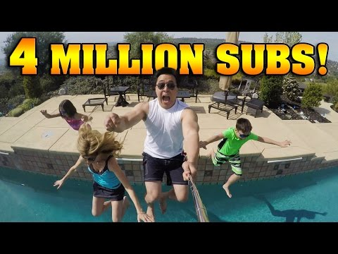 4 MILLION SUBSCRIBERS Polar Plunge & Giant Banana Split