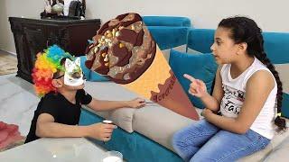 مرام اشترت ايسكريم - children buy ice cream