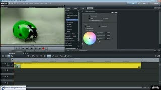 Secondary Color Correction in Magix Movie Edit Pro Plus