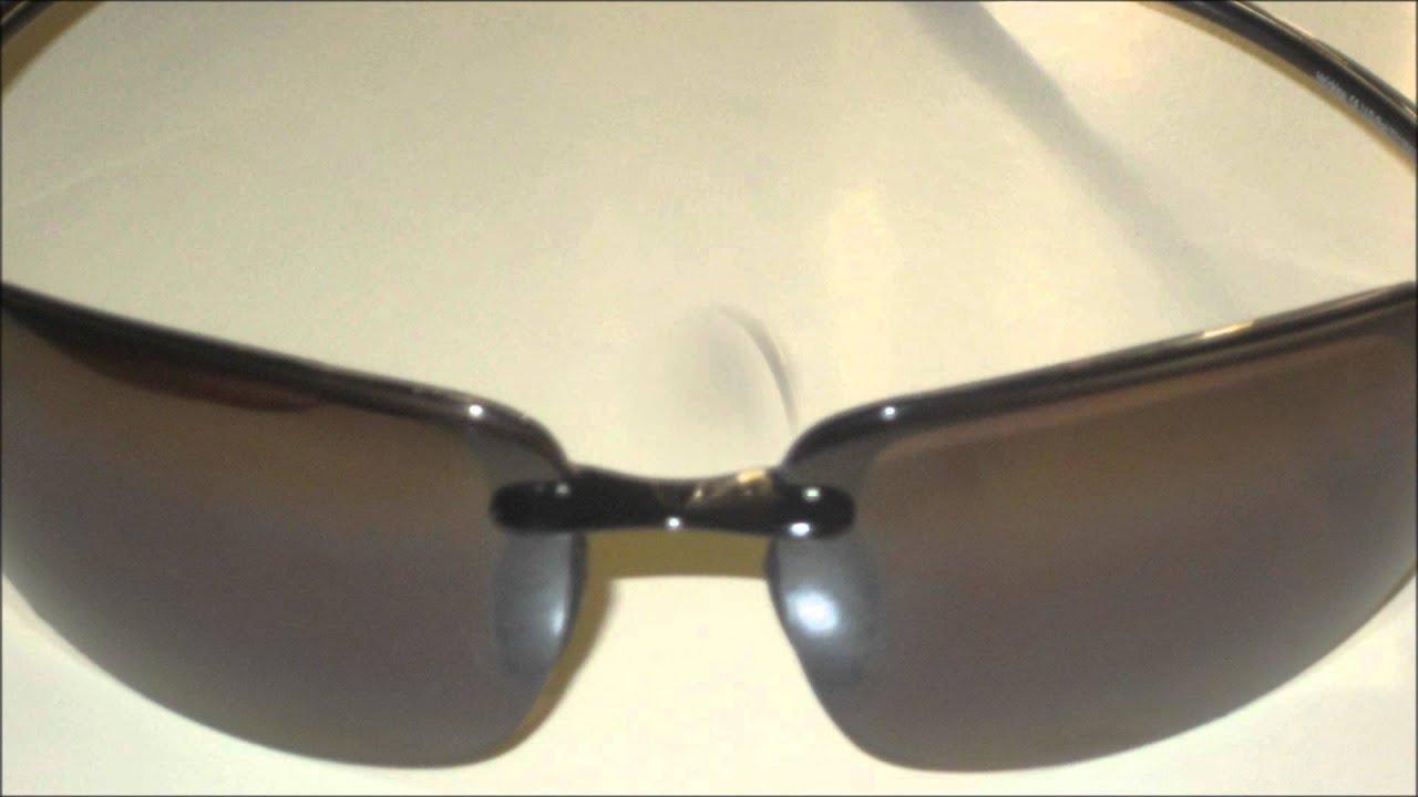 Maui Jim Hookipa MJ-407-02 Polarized Sunglasses - YouTube 72535c717d78