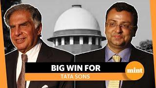 Big win for Tata Sons, SC backs removal of Cyrus Mistry: Ratan Tata responds