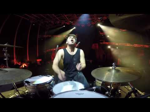 2CELLOS - They Don't Care About Us [Live at Arena di Verona] - DRUM CAM - Dusan Kranjc