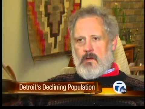 Detroit's declining population