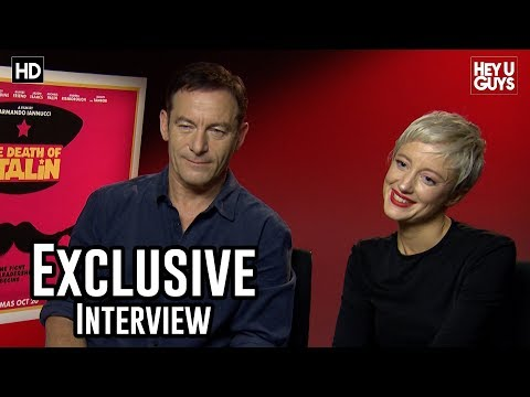 Jason Isaacs & Andrea Riseborough Exclusive  The Death of Stalin
