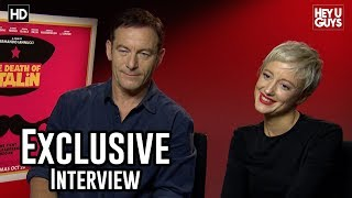 Jason Isaacs & Andrea Riseborough Exclusive | The Death of Stalin Interview