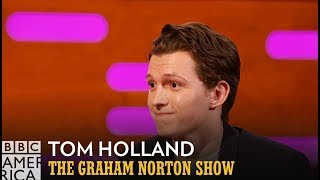 Madonna Made Tom Holland Show Off His Dance Moves - The Graham Norton Show