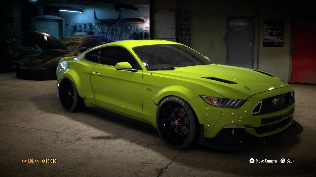 Need For Sd 2017 Ford Mustang Gt Customization Ps4