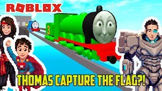Roblox: THOMAS AND FRIENDS CAPTURE THE FLAG?