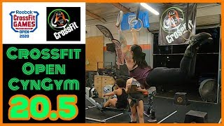 CYNGYM 20.5 CROSSFIT OPEN!!!
