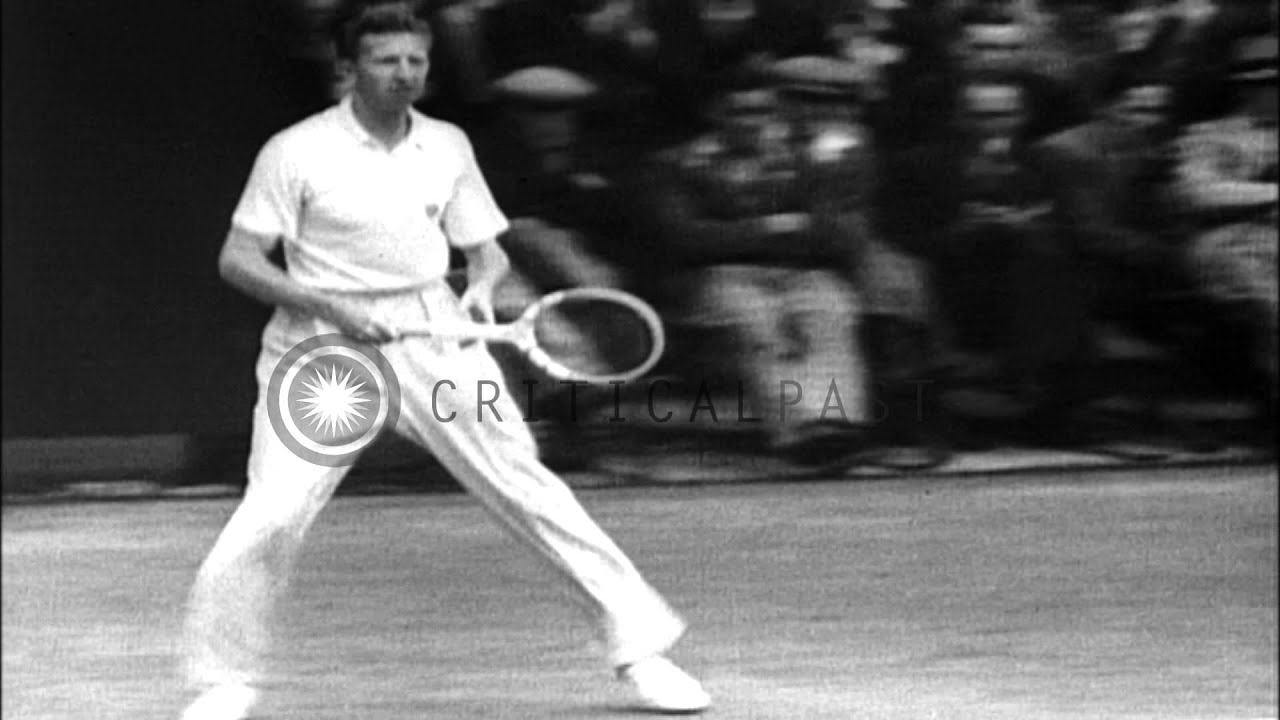 John Donald Budge defeats Henry Bunny Austin and wins Wimbledon
