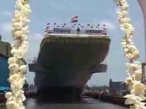 IAC Lauching ceremony 12 Aug 13 at Cochin Shipyard Limited